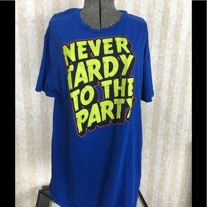 Men's tee shirt.